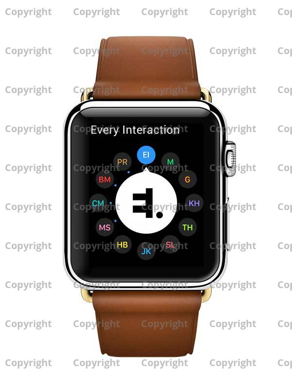 Apple Watch Modern Leather